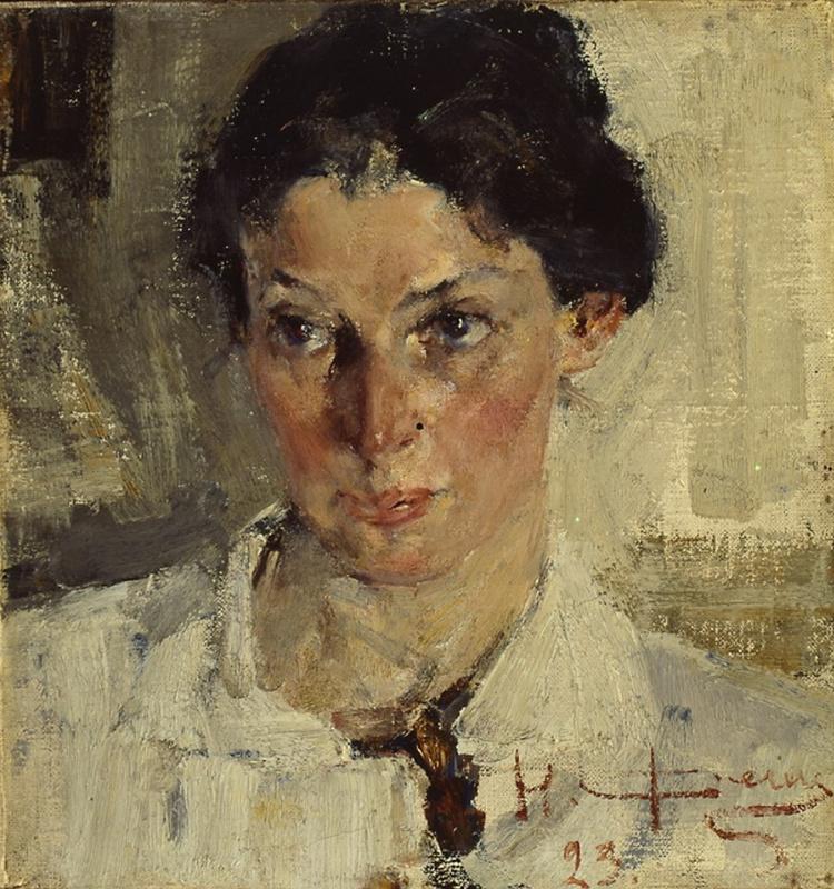 Nikolay Feshin. Portrait Of N. N. Wormhole.