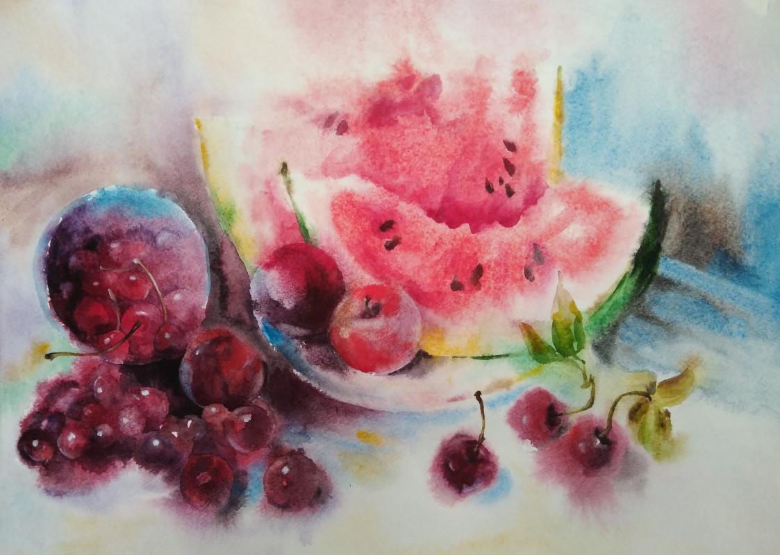 Polina Komkova. Watermelon