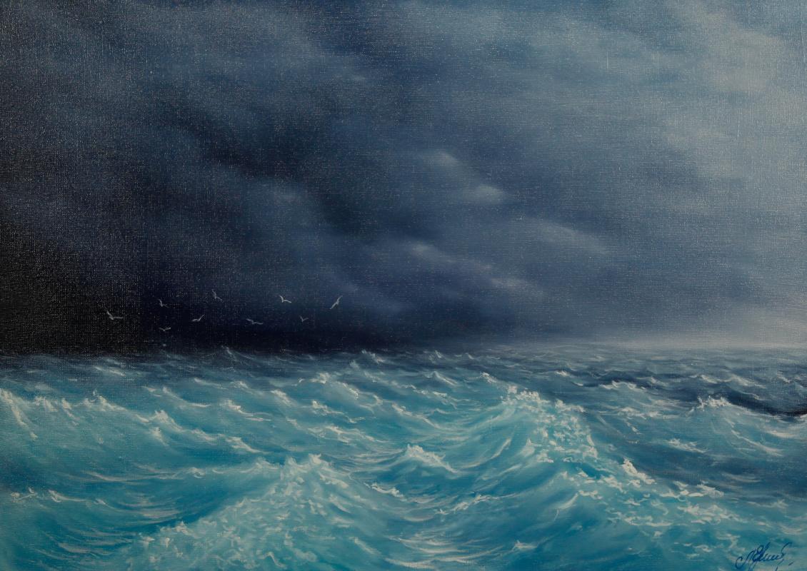 Valery Levchenko. No. 109 Sea