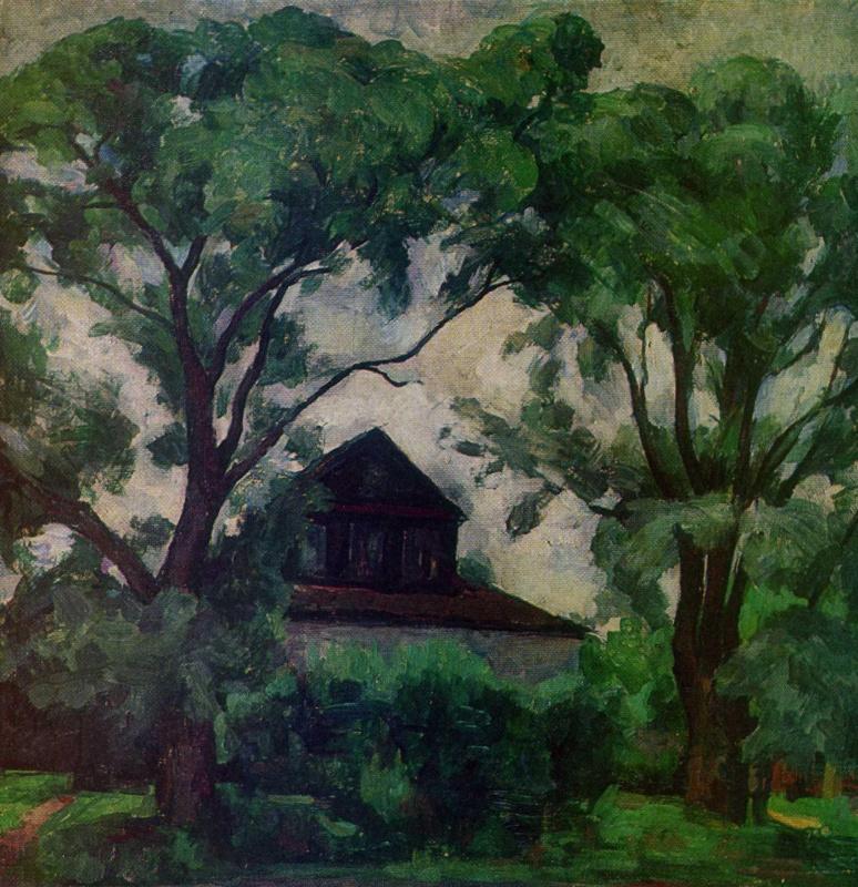 Анатолий Адрианович Лебедев-Шуйский. Старые деревья и дом