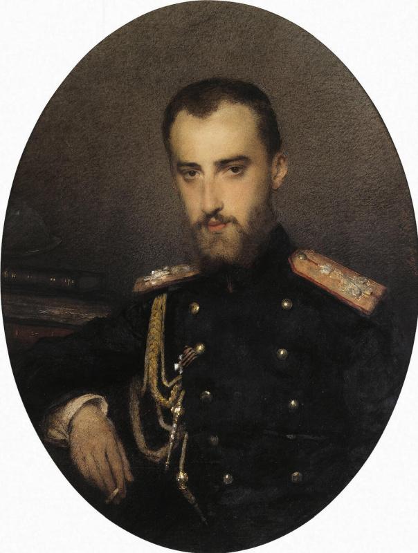 Мария Васильевна Этлингер. Портрет великого князя Николая Михайловича