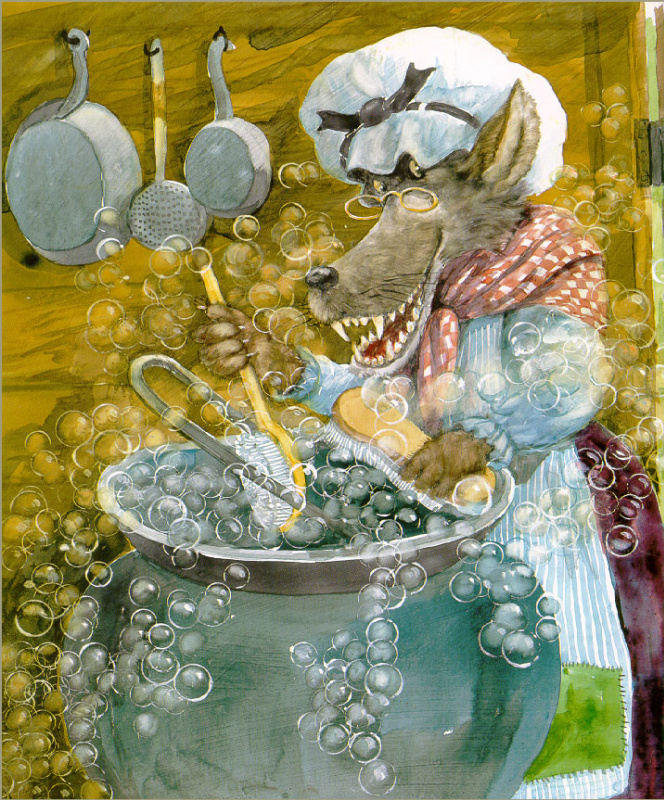 Кен Браун. Волк моет посуду