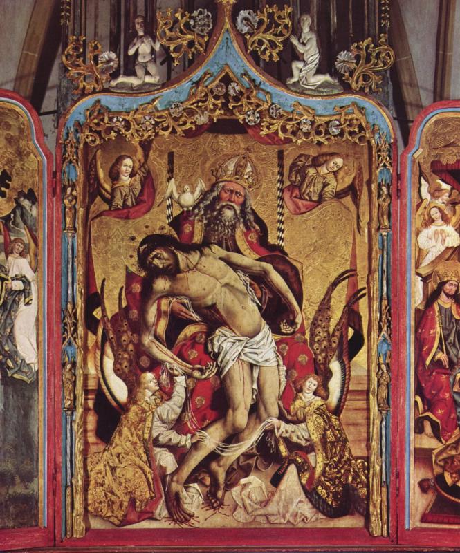 Ян Полак. Алтарный образ св. Троицы