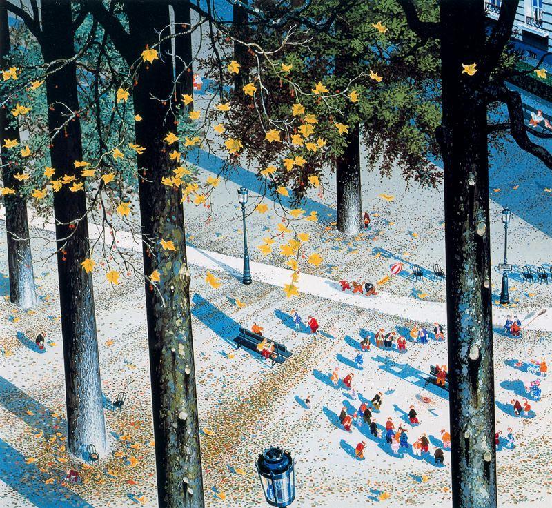 Хиро Ямагата. Осенний день