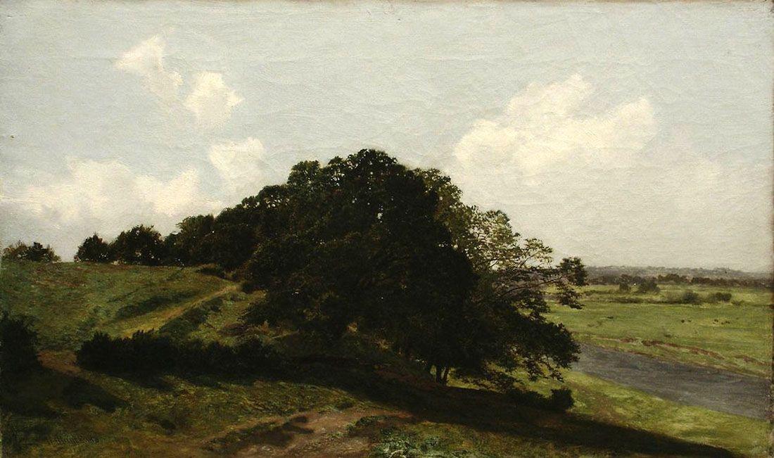 Ivan Shishkin. Summer day. Trees