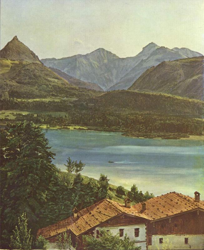 Ferdinand Georg Waldmuller. Wolfgang