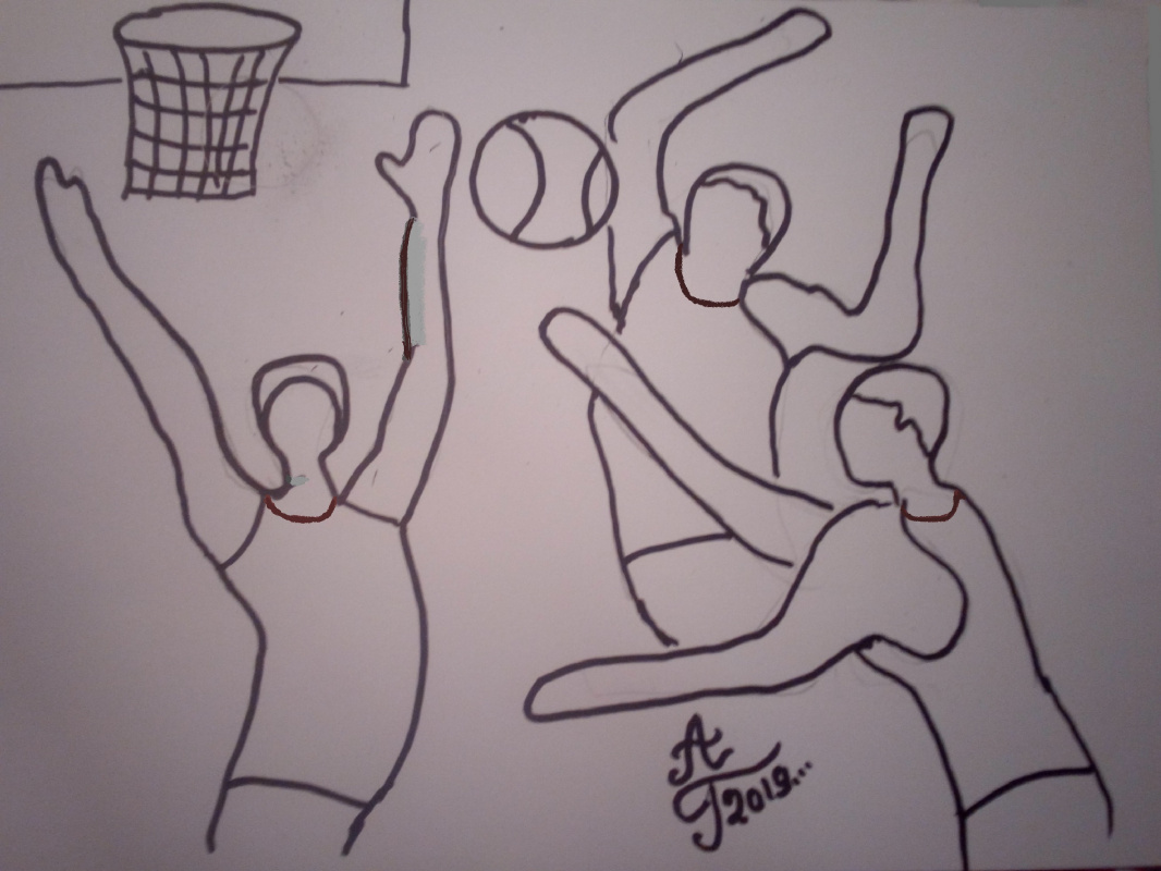 "Alexey Grishankov (Alegri). ""Basketball"""
