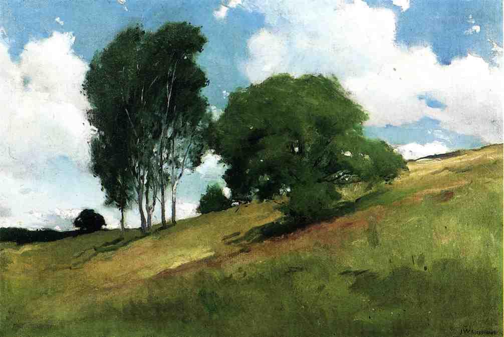 John White Alexander. Landscape