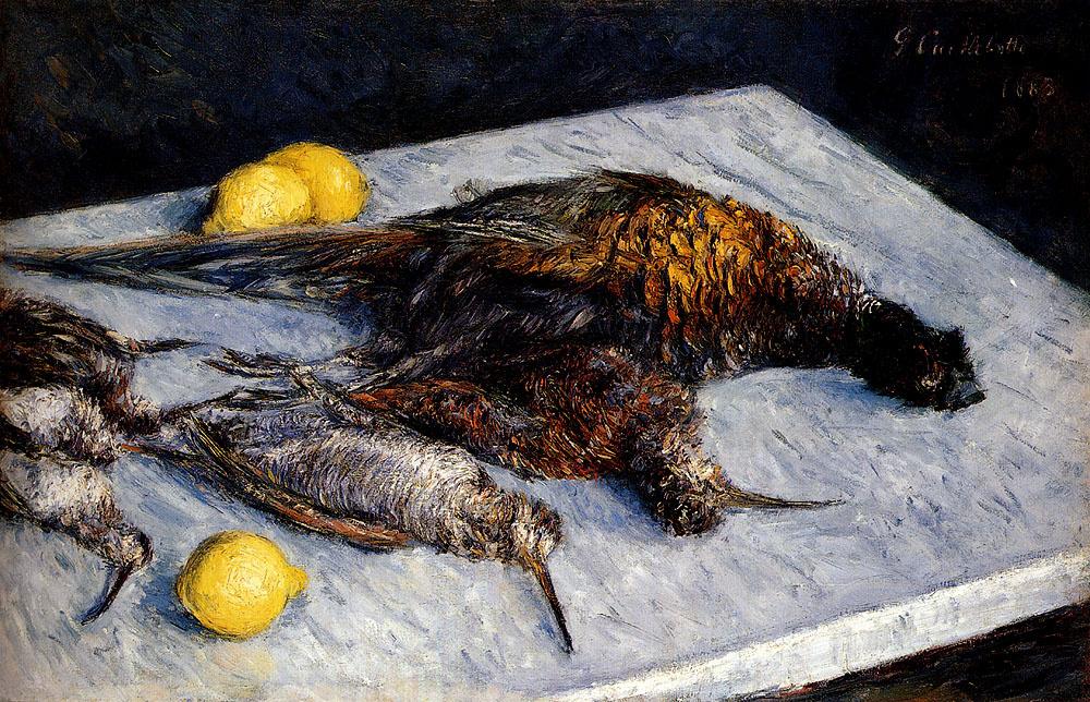 Гюстав Кайботт. Дичь и лимоны