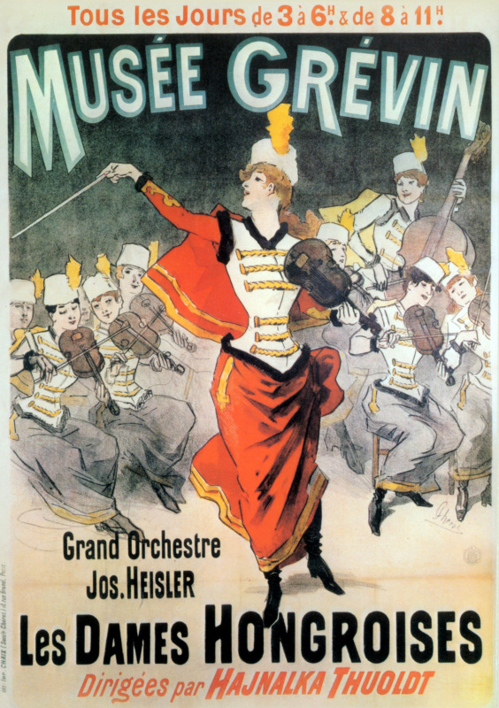 Жюль Шере. Musee Grevin - Grand Orchestre Jos Heisler