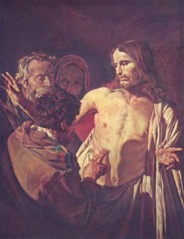 Gerard van Honthorst. The Unbelief Of Thomas