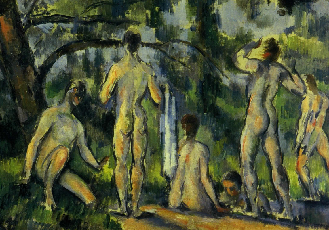 Paul Cezanne. Bathing