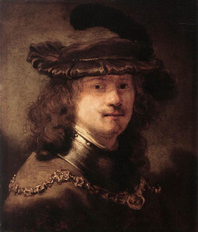 Говерт Теунисз Флинк. Портрет Рембрандта