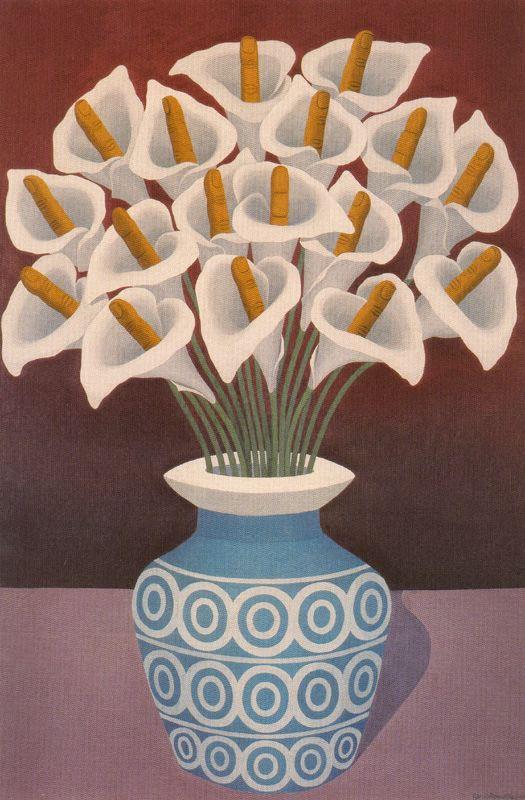 Альфредо Гарсиа Ревуэльта. Ваза с цветами