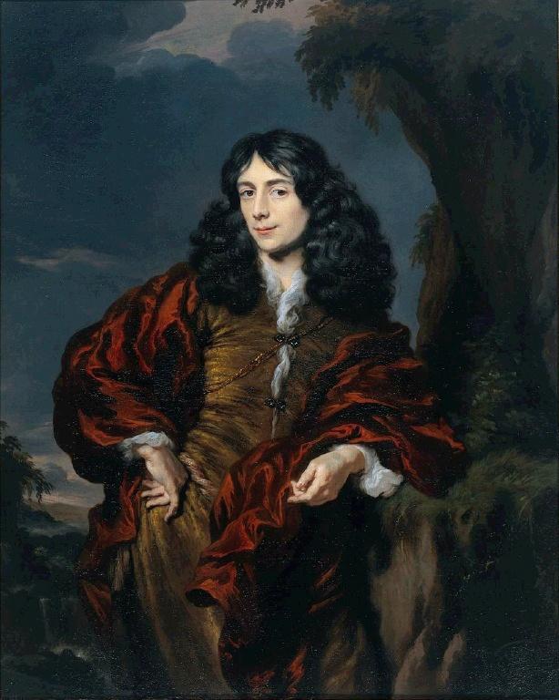 Nicholas Mas. Portrait of a young man (possibly Simon van Alphen)