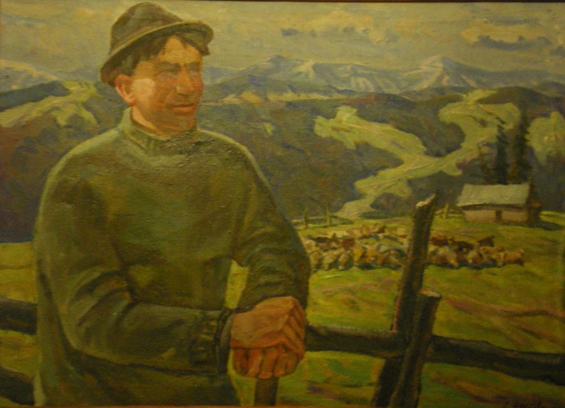 Лев Николаевич Журавлев. Могиш знатный чабан