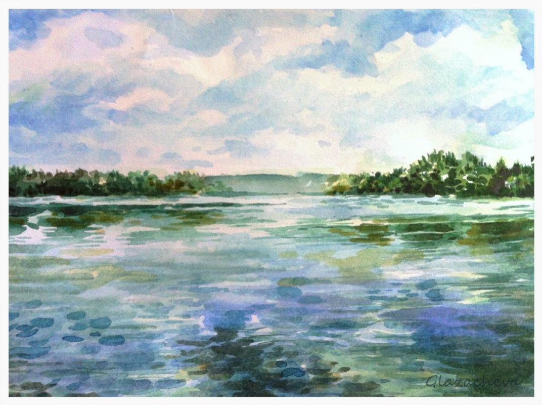 Olga Glazacheva. Lake