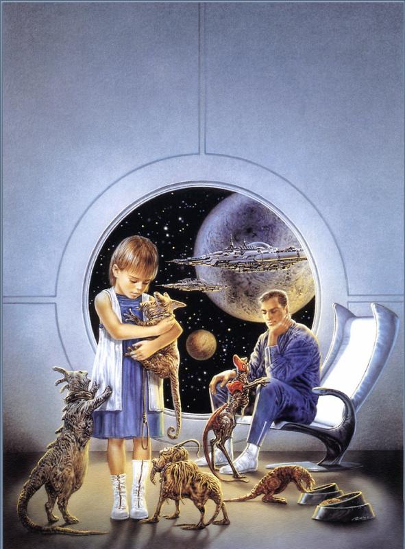 Луис Ройо. Инопланетные домашние животные