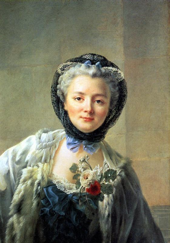 Мадам Друэ — жена художника