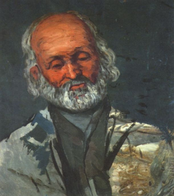 Поль Сезанн. Портрет пожилого человека
