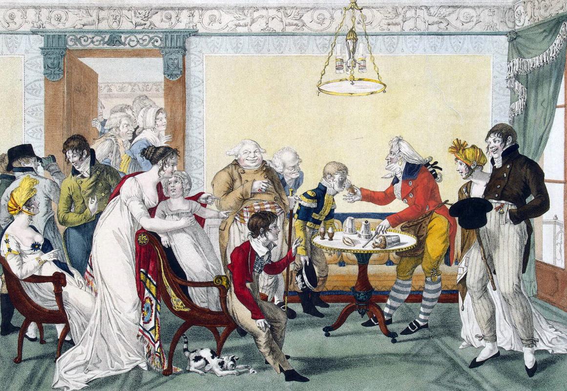 Франсуа-Жозеф Бозио. Игра в карты