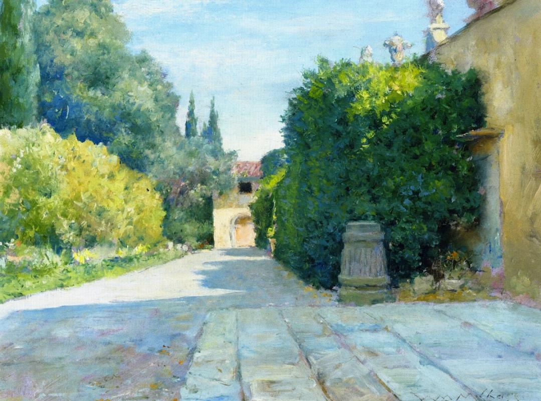 William Merritt Chase. Villa in Florence