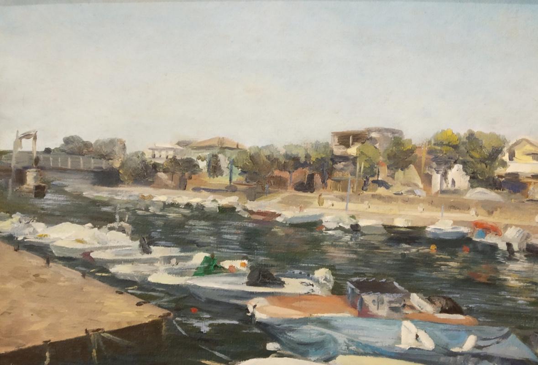 Alexandra Sergeevna Fedulova. Canal in Rimini