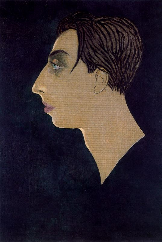 Georges Malkin. Portrait of a man