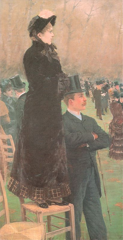 Джузеппе де Ниттис. Дама и джентльмен