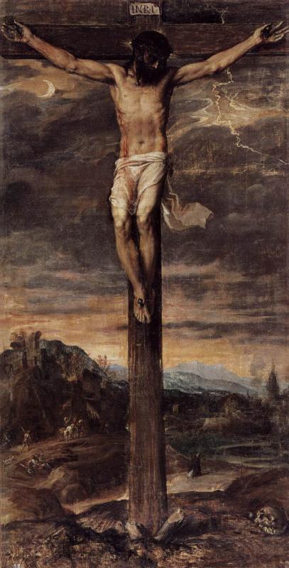 Тициан Вечеллио. Распятие Христа