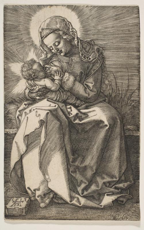 Albrecht Durer. Mary and baby Jesus