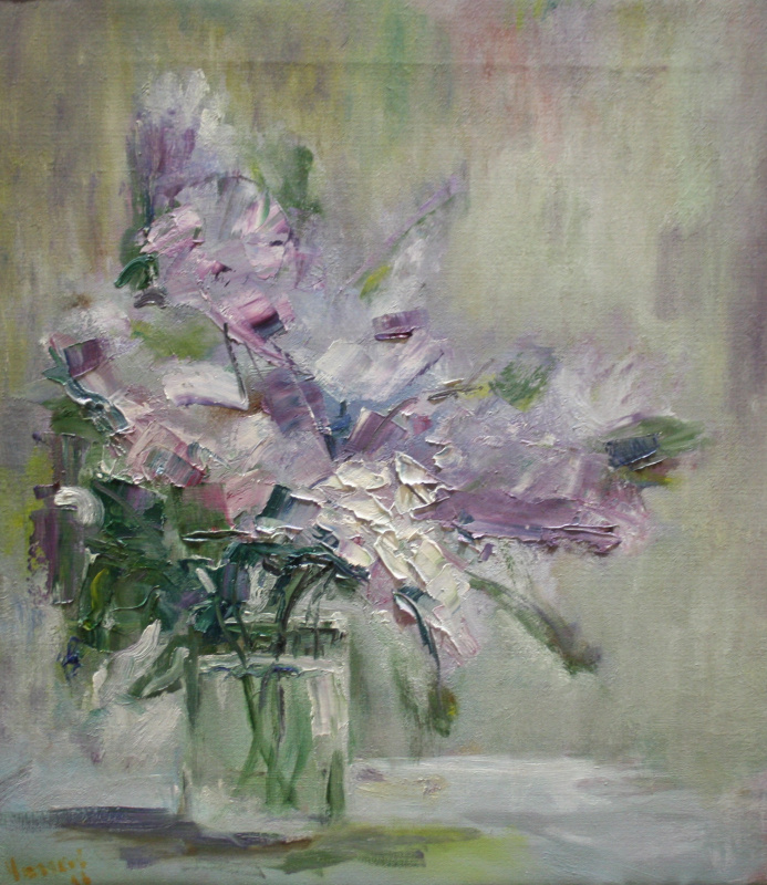 Vsevolod Chistyakov. Paintings To Buy In St. Petersburg Still Life Bouquet