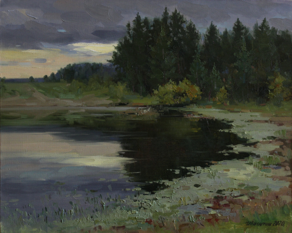 Anatoly Petrovich Ivasyutin. Before the storm.