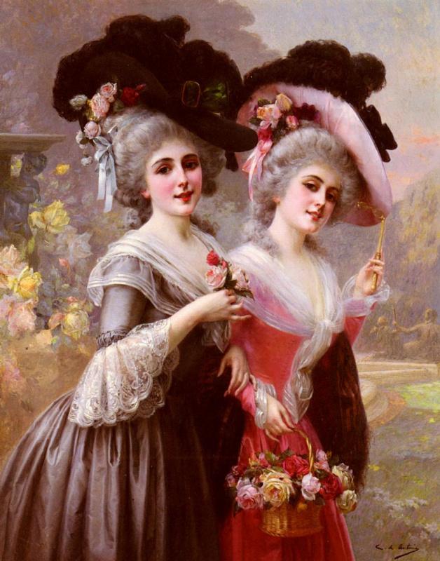 Кристобаль де Антонио. Корзина роз