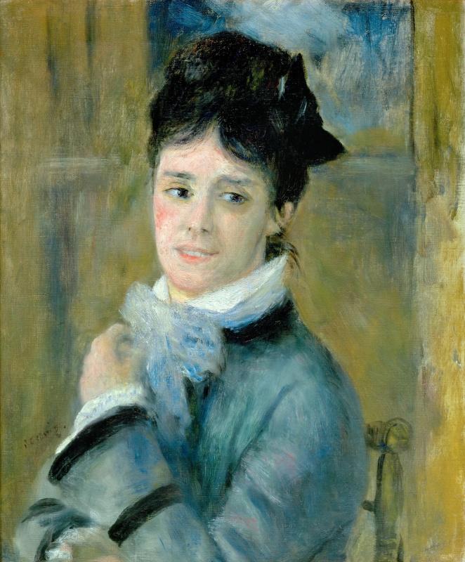 Pierre-Auguste Renoir. Camilla Monet