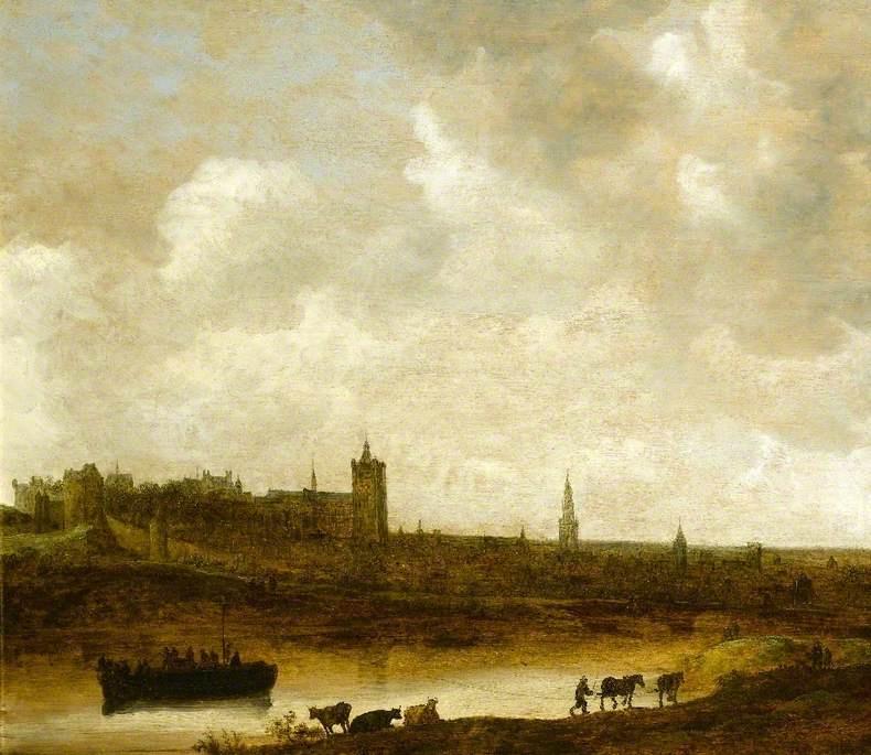Jan van Goyen. View of Brussels