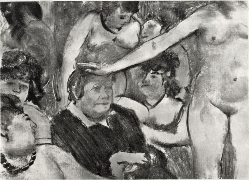 Edgar Degas. A celebration in honor of the mistress of the brothel