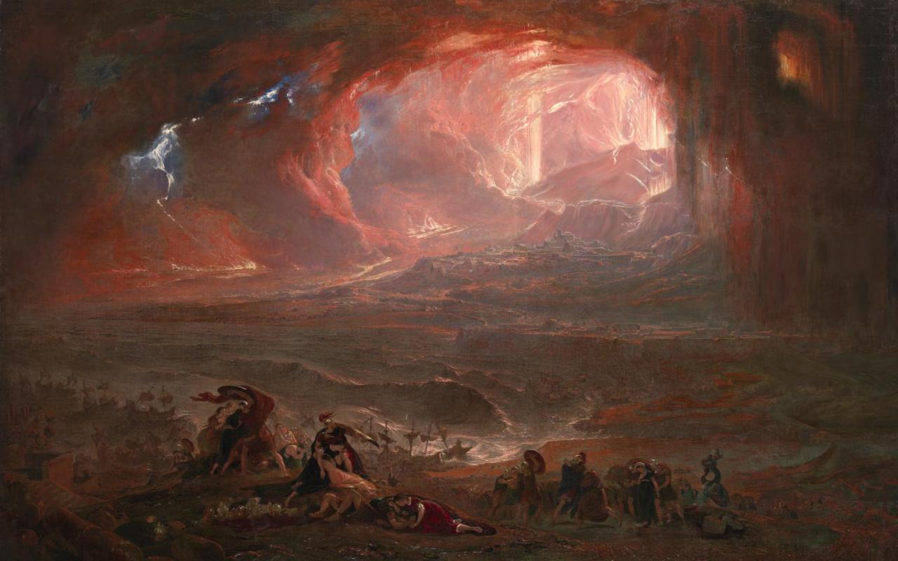 John Martin. The Destruction of Pompei and Herculaneum