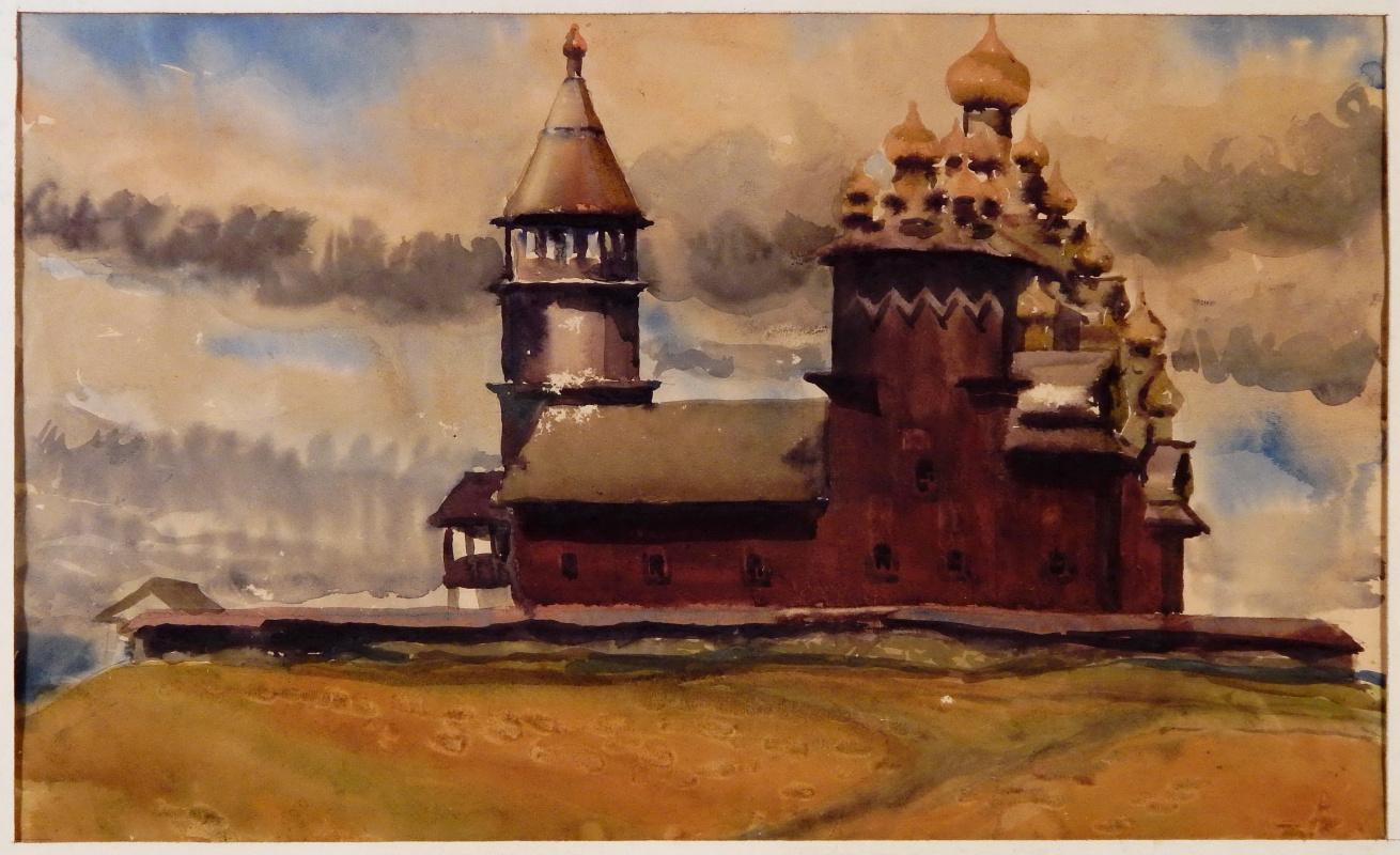 Виктор Георгиевич Ефименко. Кижи. 1972