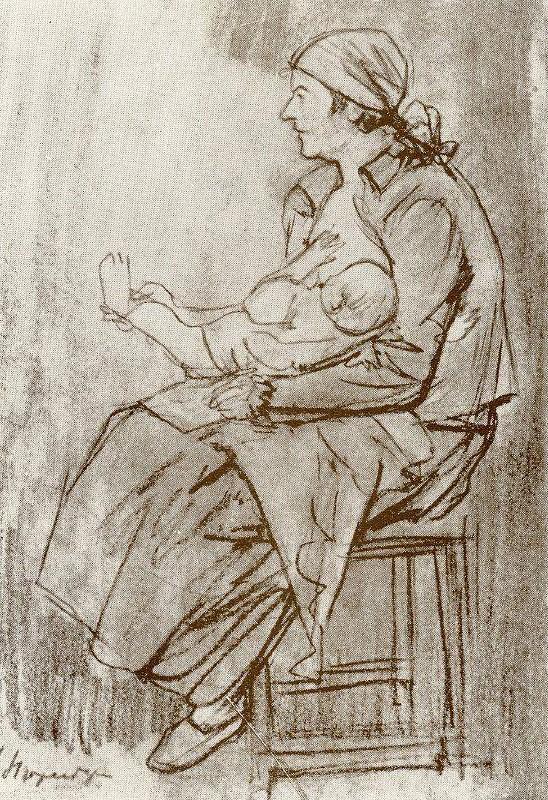 Amshey Markovic Nuremberg. Motherhood.