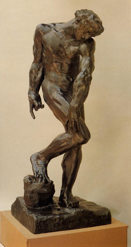 Auguste Rodin. Adam