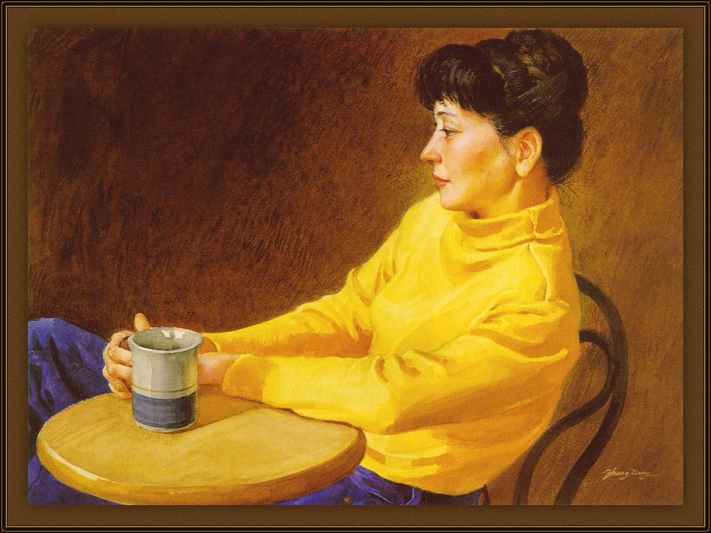 Xiang Zhang. A Cup of coffee