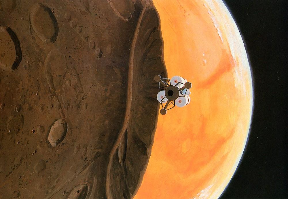 Уильям Хартманн. На Марсе