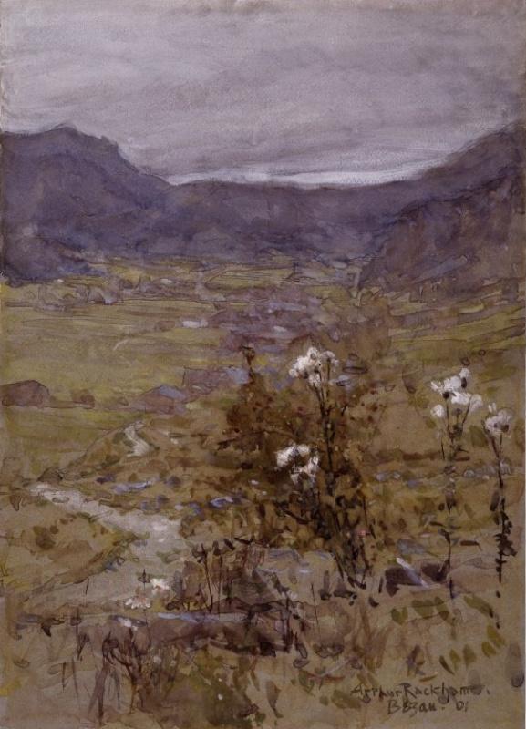 Артур Рэкхэм. Пейзаж