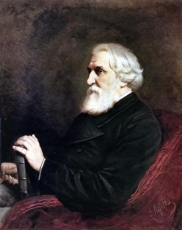 Портрет писателя Ивана Сергеевича Тургенева