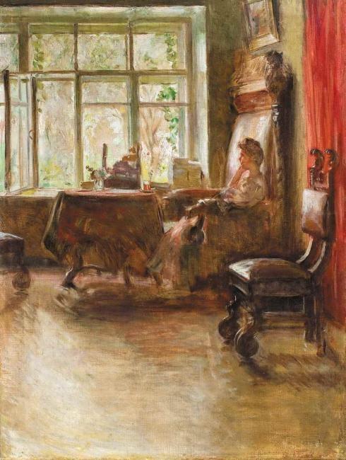 Евгений Иосифович Буковецкий. У окна