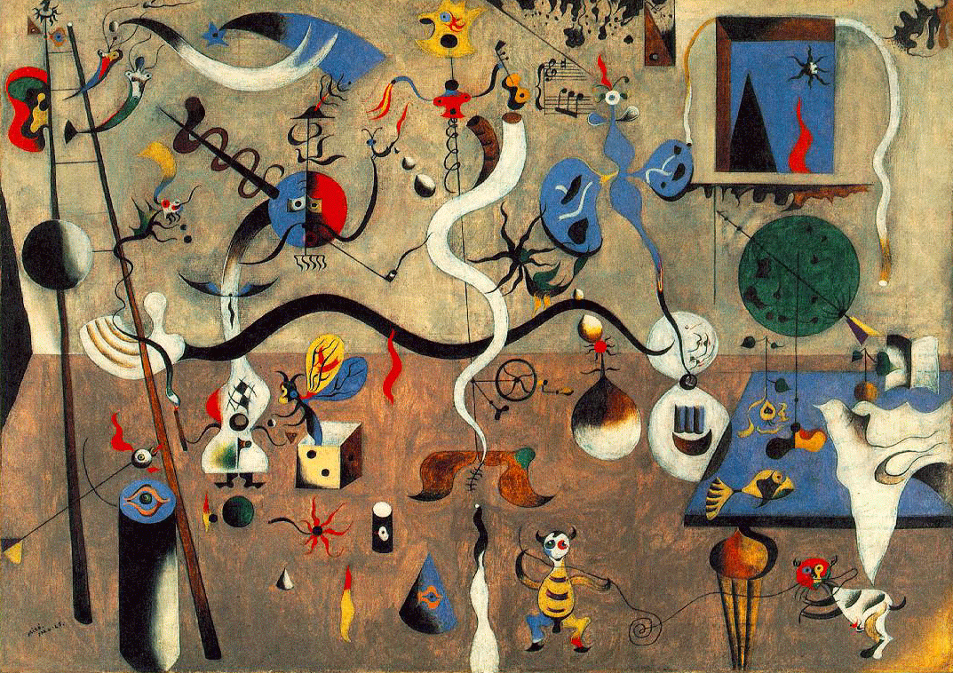 Joan Miro. Carnival Of Harlequin