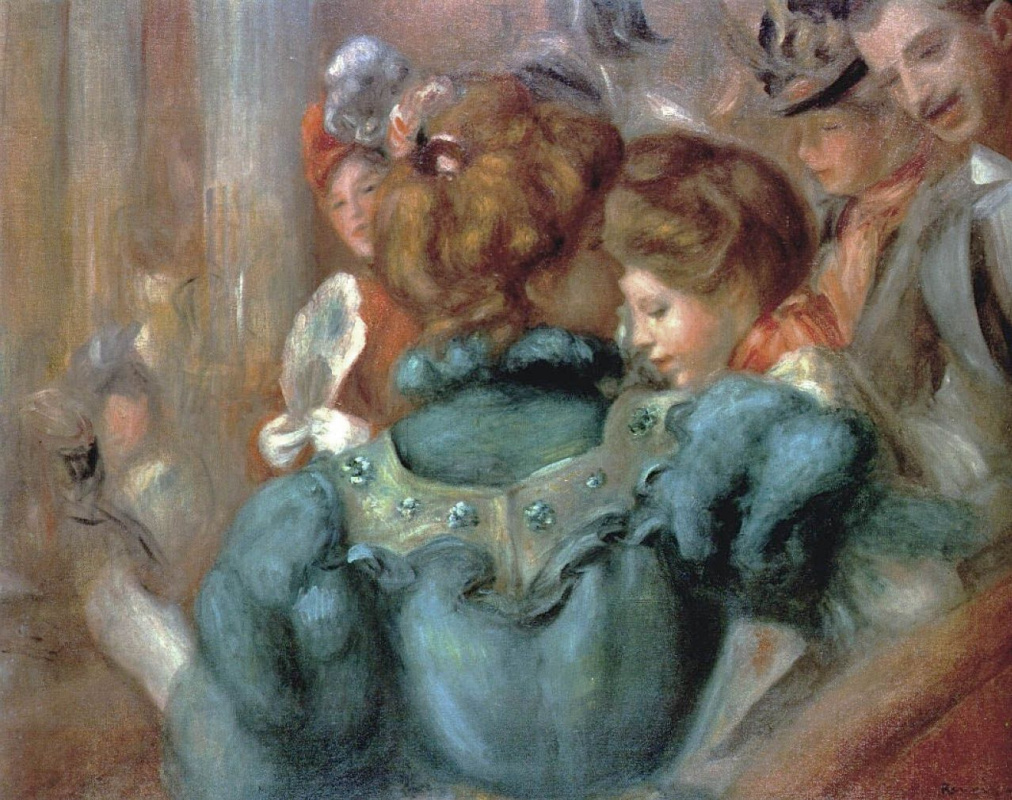 Pierre-Auguste Renoir. Place in a variety show
