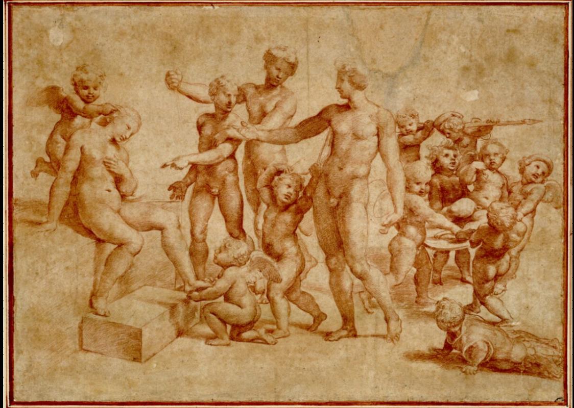 Raphael Sanzio. Wedding of Alexander and Roxana