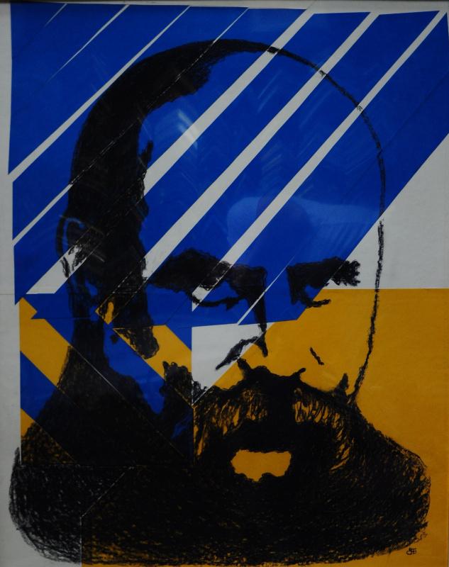 "Elena Babinets. ""The wall and the Flag"" FilosofoArt"